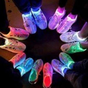 Fiber optic shoe. Pink Brand New
